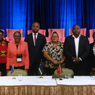 CAROA Council 2019 outgoing/incoming