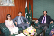 Ombudsman Malik meets delegation of UN-Women